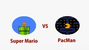super mario vs pacman
