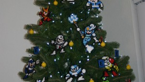 Mega Man Christmas Tree Image 3