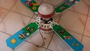 Super Mario Bros. Ceiling Fan Image 1