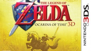 Zelda: Ocarina of Time 3D Box