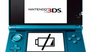 Nintendo 3DS Low Battery Image