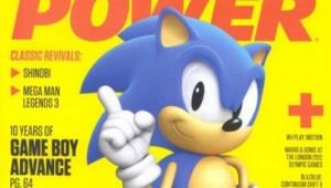 Nintendo Power Sonic Generations 3DS Cover Image 1