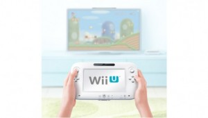 Wii U Controller And TV Image