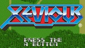 Xevious Title