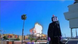 Bomberman Movie Trailer Screen