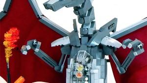 LEGO Mecha Charizard by Zane Houston image 3