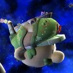 Super Smash Bros Wii Super Mario Galaxy stage image 1