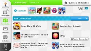 Wii U Miiverse new changes image 1